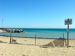 Praia, alertando