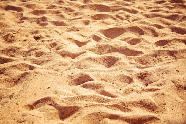 Praia, areia, viagens, paisagem marítima, férias e, verão, conceito, visuais elegantes