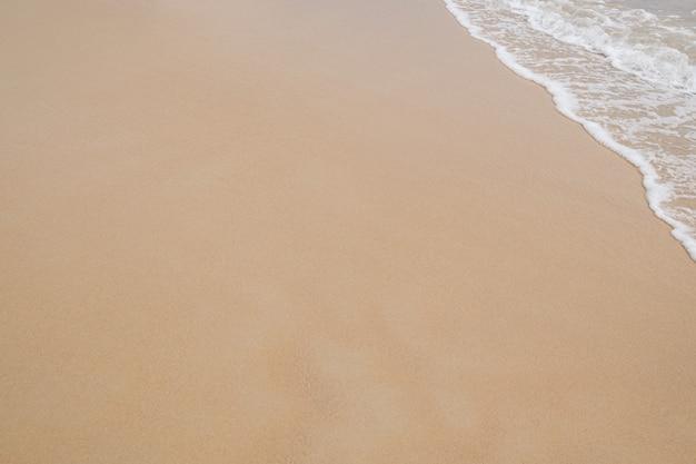 Praia bonita e limpa. copyspace.