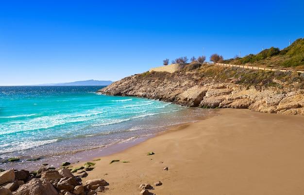 Praia cala llenguadets salou platja tarragona