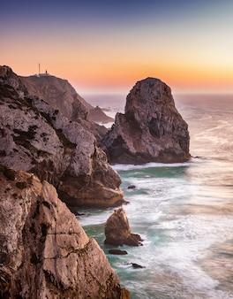 Praia da cabo da roca e ursa da falésia