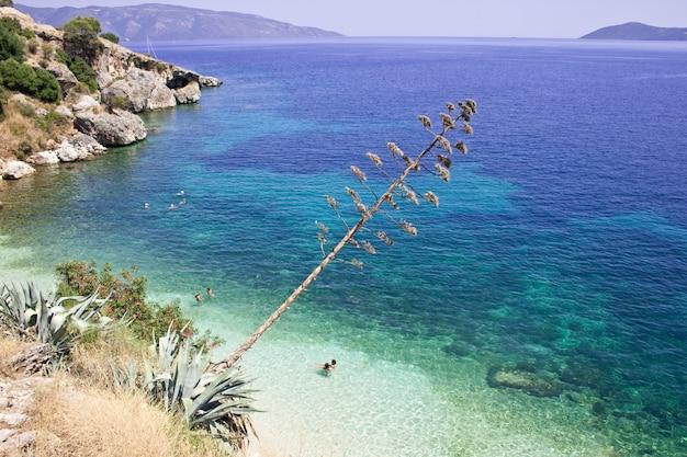 Praia de agia efimia, kefalonia