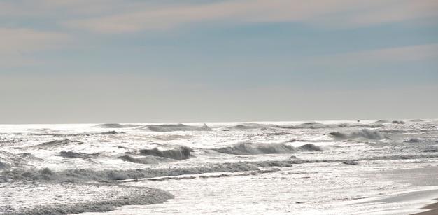 Praia de amagansett, os hamptons, nova iorque