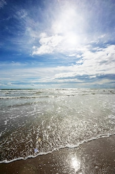 Praia de areia em anapa