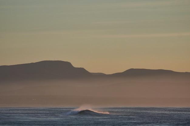 Praia de areia marrom durante o dia