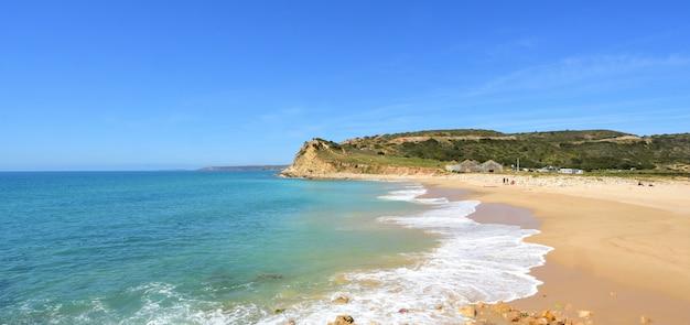 Praia de boca del rio, vila do bispo, algarve, portugal
