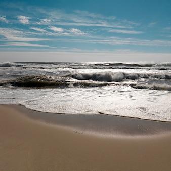 Praia de bridgehampton, os hamptons