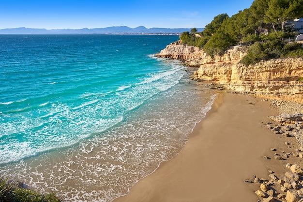 Praia de cala penya tallada salou tarragona