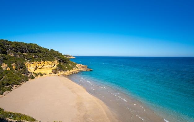 Praia de cala waikiki cala fonda em tarragona