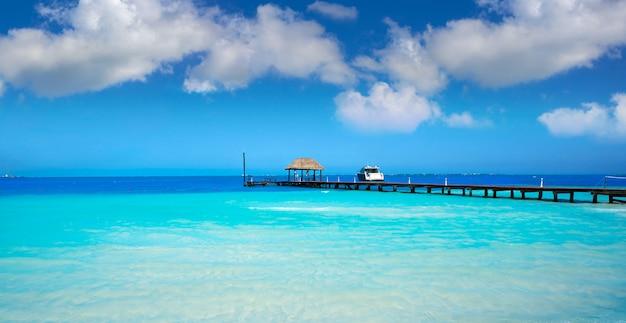 Praia de cancun playa langostas no méxico