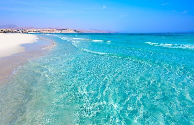 Praia de costa calma de jandia fuerteventura