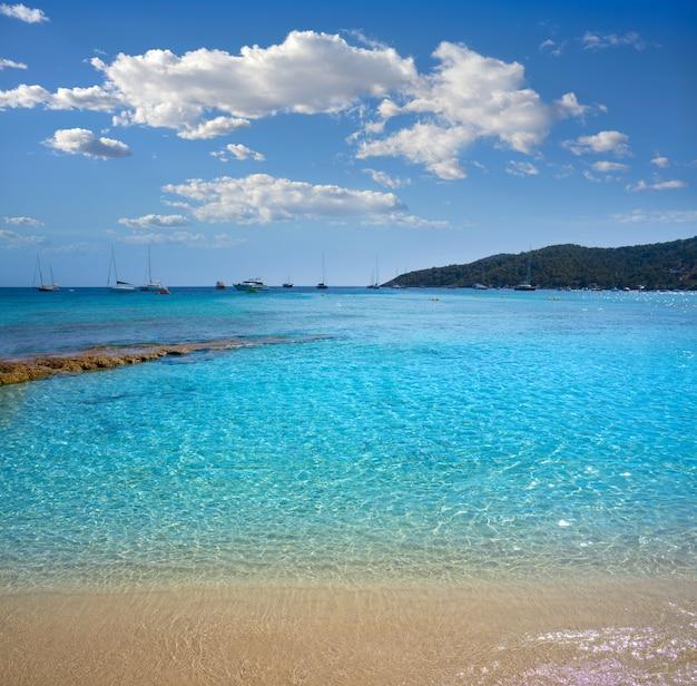 Praia de ibiza playa ses salines es cavallet