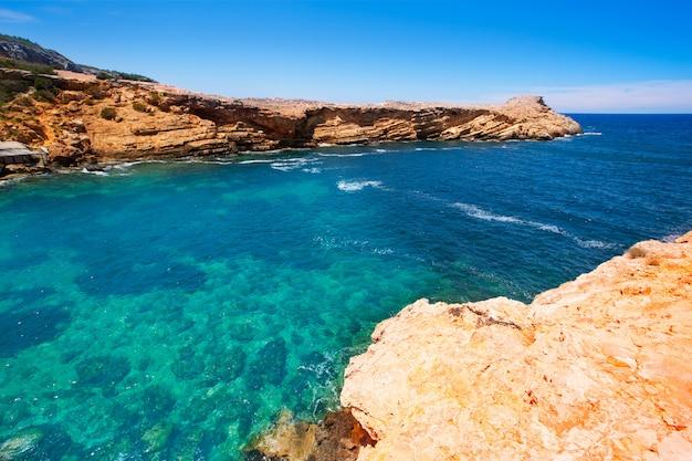 Praia de ibiza punta de sa galera em san antonio