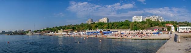 Praia de langeron em odessa, ucrânia