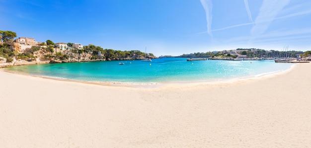 Praia de maiorca porto cristo em manacor em maiorca