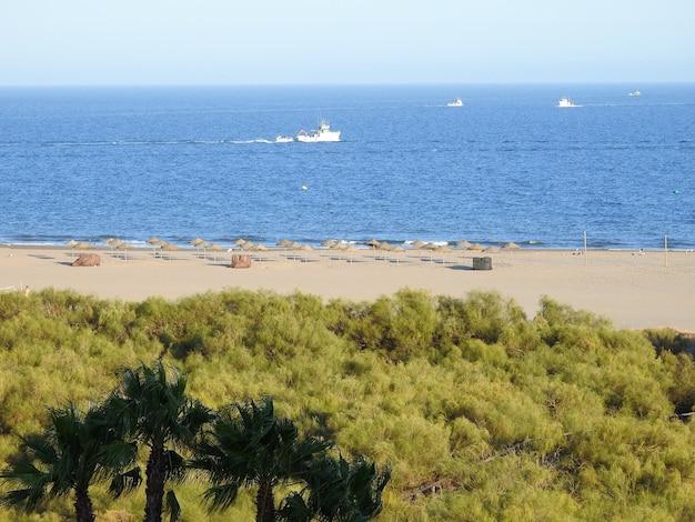 Praia de punta del moral huelva andaluzia espana
