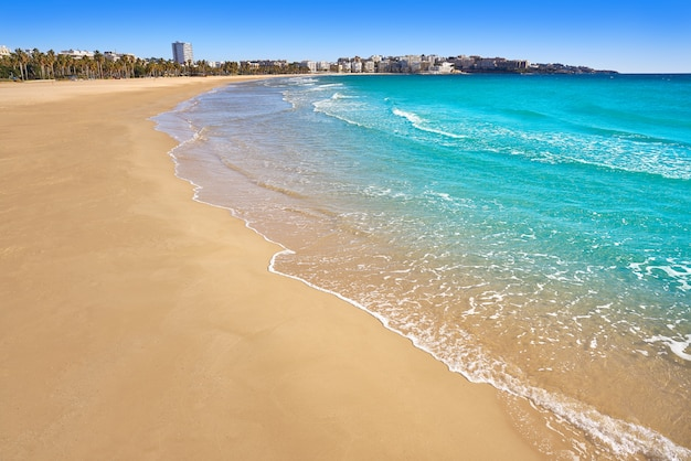 Praia de salou llevant levante platja tarragona
