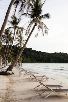Praia de são em phu quoc no vietnã