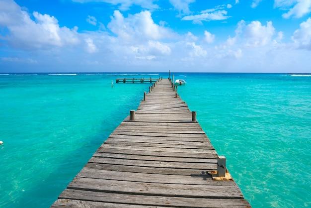 Praia do caribe mahahual na costa maya