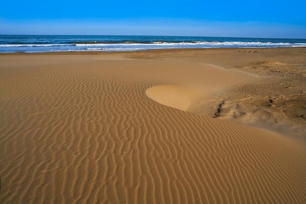 Praia do delta do ebro punta del fangar