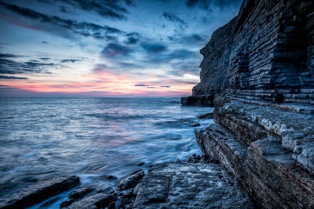Praia do southerndown, país de gales