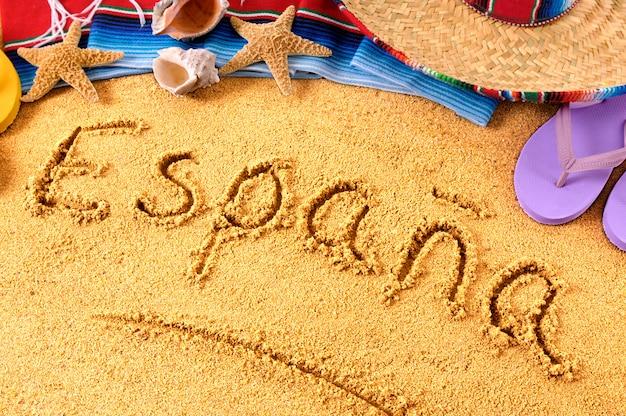 Praia espanhola