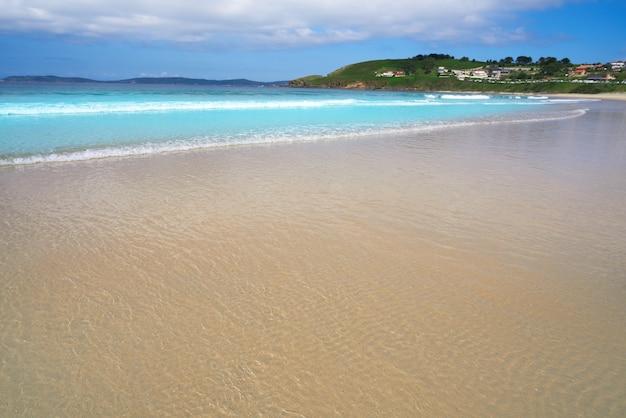 Praia montalvo em pontevedra galiza em sanxenxo