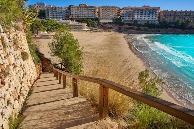 Praia salou platja capellans em tarragona