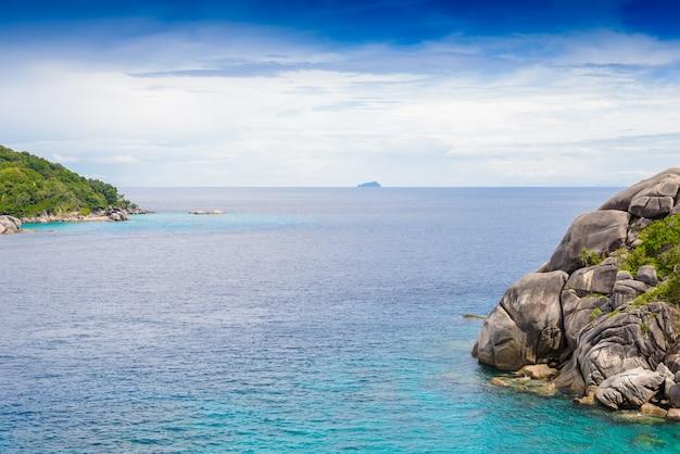 Praia tropical, ilhas similan