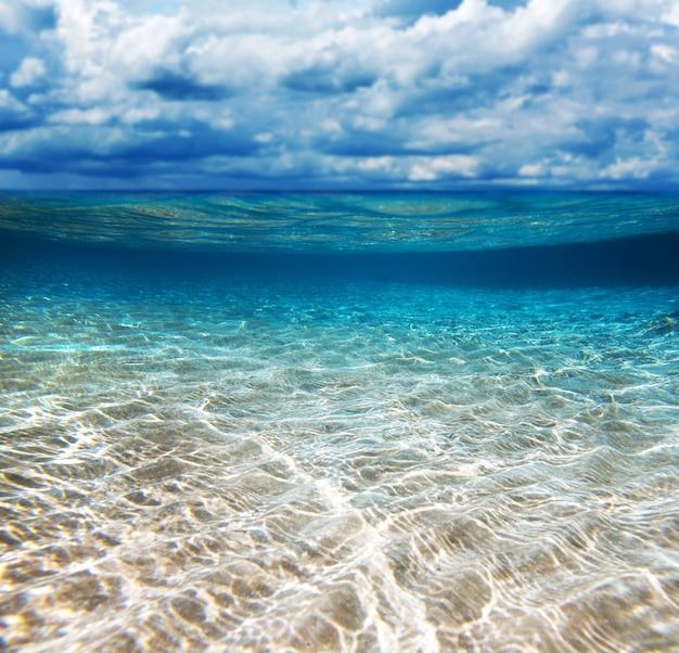 Praia tropical, mar de andamão, tailândia