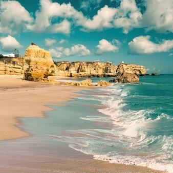 Praias douradas de albufeira