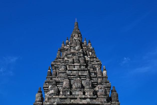 Prambanan é um templo hindu em yogyakarta, java, indonésia