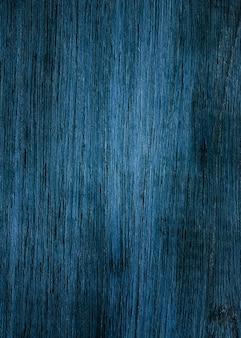 Prancha de madeira azul escura