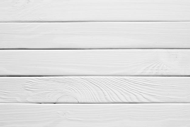Prancha de madeira branca vintage como textura e plano de fundo