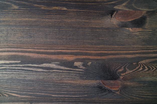 Prancha de madeira com belo padrão, vista superior da superfície da mesa para o fundo