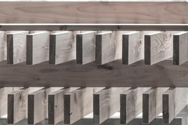 Prancha de madeira desbotada