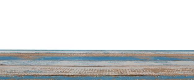 Prancha vazia de madeira pastel azul pastel