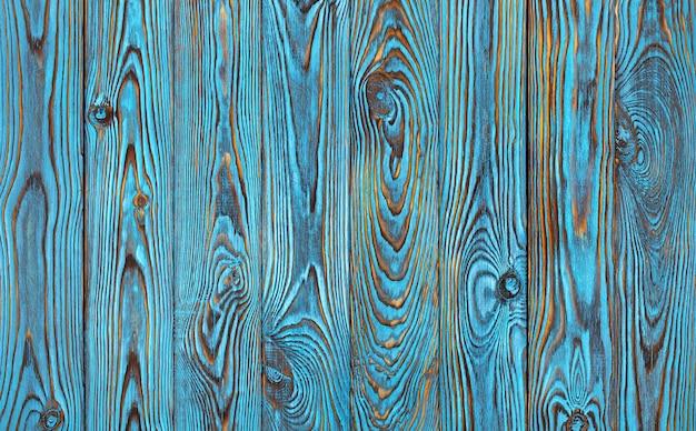 Pranchas de madeira azuis