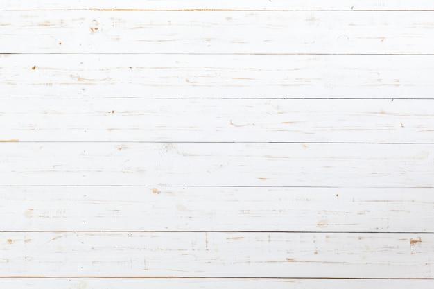 Pranchas de madeira brancas