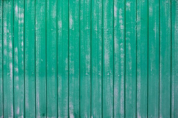 Pranchas de madeira de cor verde antigo fundo de textura de pano de fundo