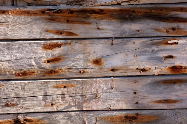 Pranchas de madeira muito antigas