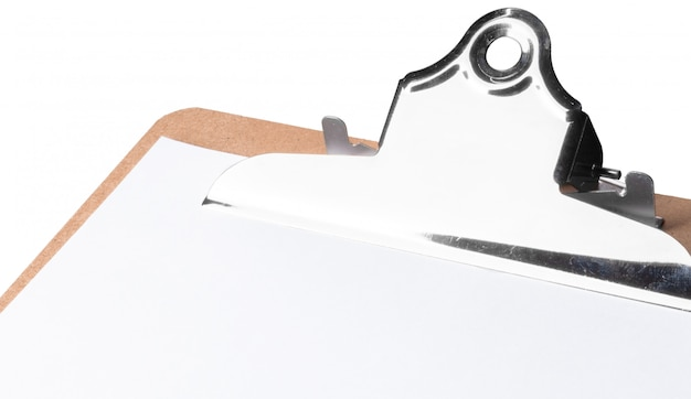 Prancheta, isolada no branco