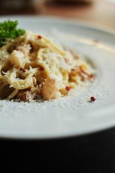 Prato com massa deliciosa