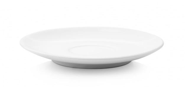 Prato em fundo branco