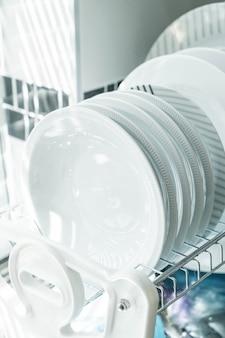 Prato limpo em um prato