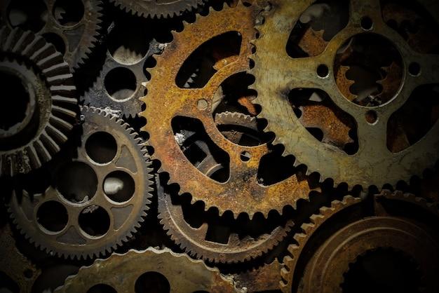 Precisão fábrica partes de ferro trabalho em equipe
