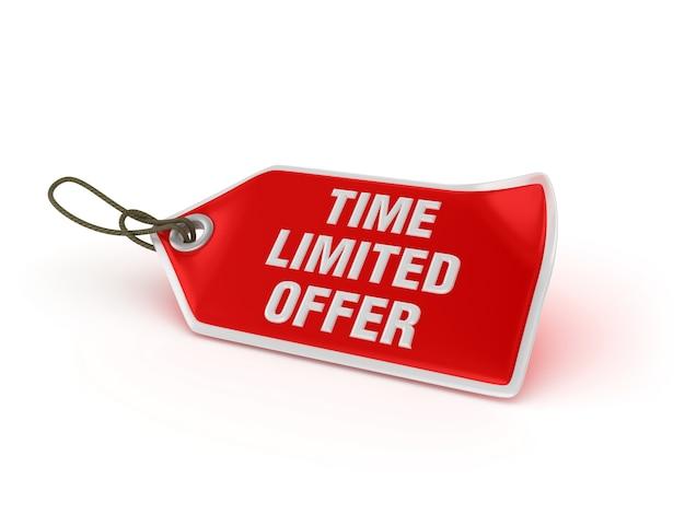 Preço de compra time limited oferta
