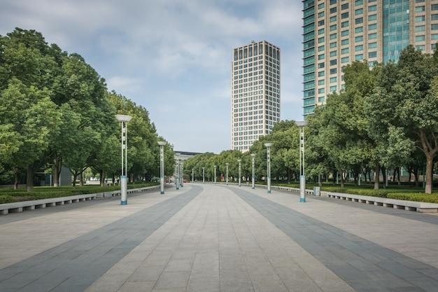 Prédio moderno em suzhou