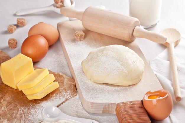 Preparação de massa para padaria