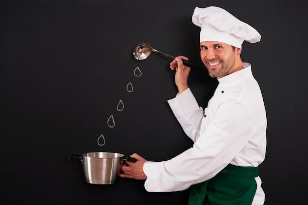Preparando deliciosos pratos